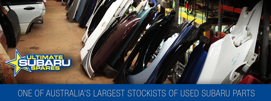 One of Australia's largest stockists of used Subaru parts