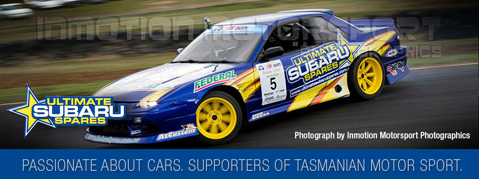 Passionate about cars. Supporters of motorsport in Tasmania.